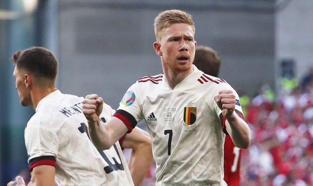 Euro 2020, Belgique : Kevin de Bruyne explique pourquoi il n'a pas célébré son but contre le Danemark