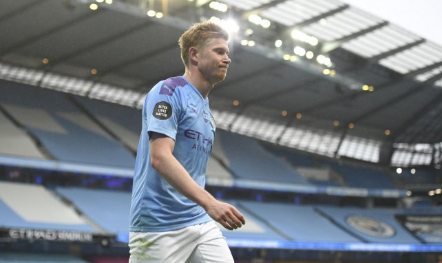 Manchester City : Kevin de Bruyne absent 4 à 6 semaines