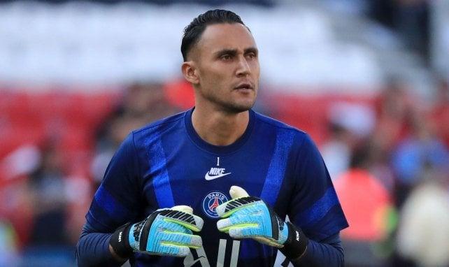 Strasbourg - PSG : Keylor Navas remplacé à la pause