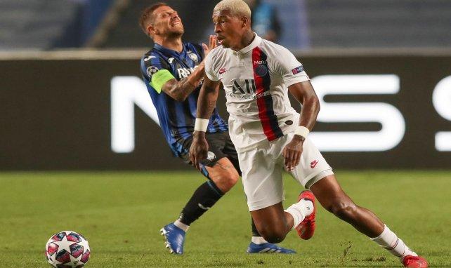Presnel Kimpembe face à l'Atalanta Bergame