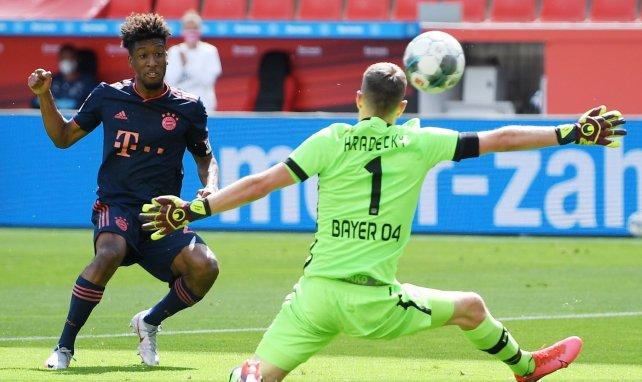 Kingsley Coman sous le maillot du Bayern Munich