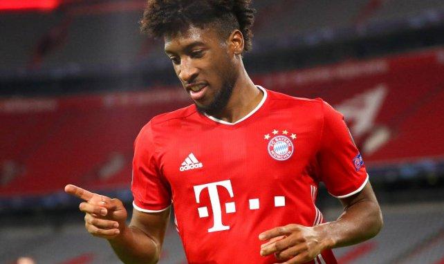 Kingsley Coman avec le Bayern Munich