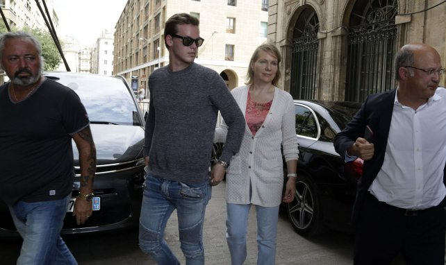 Kyril Louis-Dreyfus ici en compagnie de sa mère, Margarita Louis-Dreyfus, en 2016