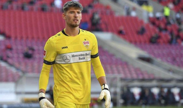 Gregor Kobel gardait le but de Stuttgart cette saison