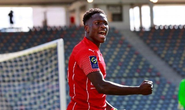 Moussa Koné a fait la différence pour Nîmes