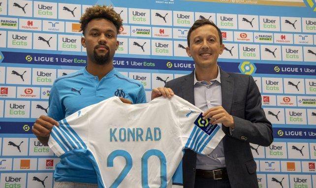 OM : la surprise Konrad de la Fuente