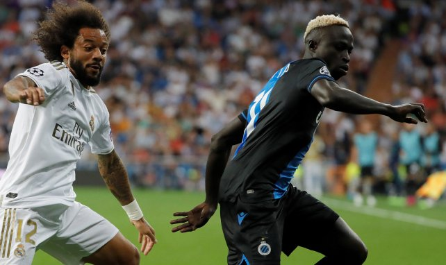 Krepin Diatta en Ligue des Champions contre le Real Madrid