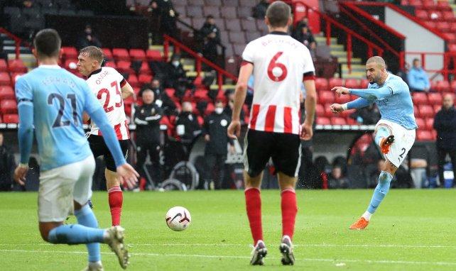 PL : Kyle Walker offre la victoire à Manchester City face à Sheffield