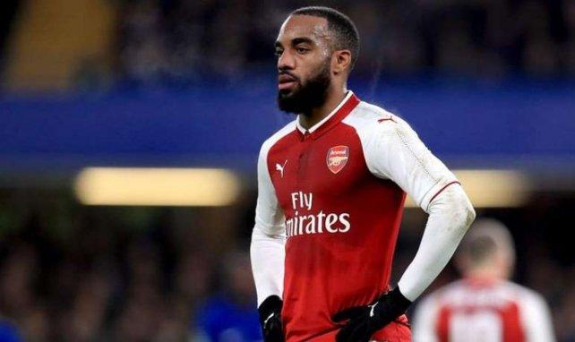 Alexandre Lacazette sous les couleurs d'Arsenal