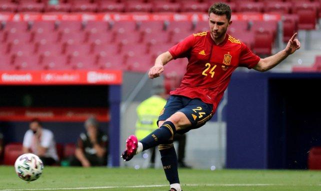Aymeric Laporte face au Portugal