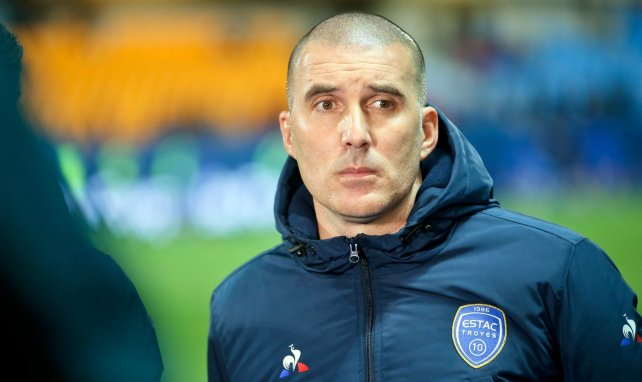 Laurent Battles, le coach de Troyes