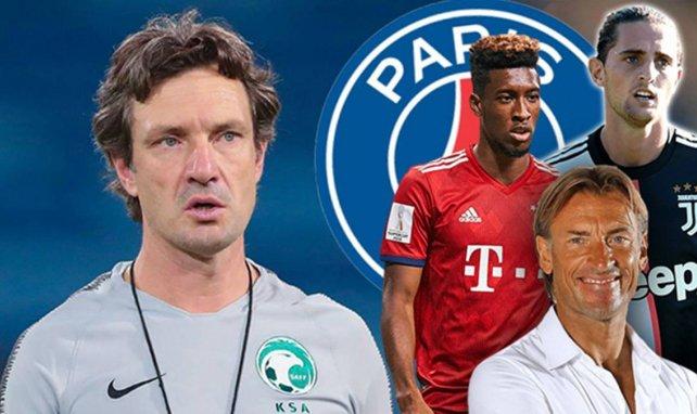 Laurent Bonadei a notamment formé Coman et Rabiot au PSG avant de côtoyer Hervé Renard en sélection