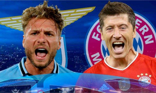 Lazio-Bayern Munich : les compositions probables
