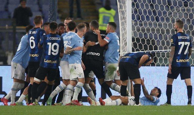 Lazio-Inter : l'expulsion surréaliste de Luiz Felipe après le coup de sifflet final