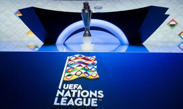 Le trophée de la Ligue des Nations