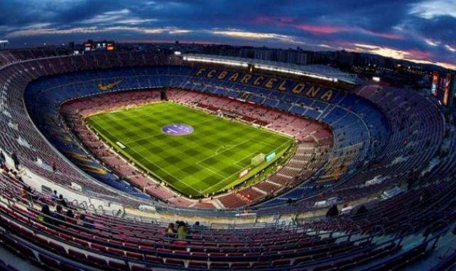 Le Camp Nou avant le match de Copa face à Leganés le 30 janvier dernier