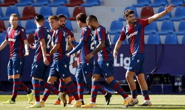 Liga : Levante s'en sort bien face à Valladolid