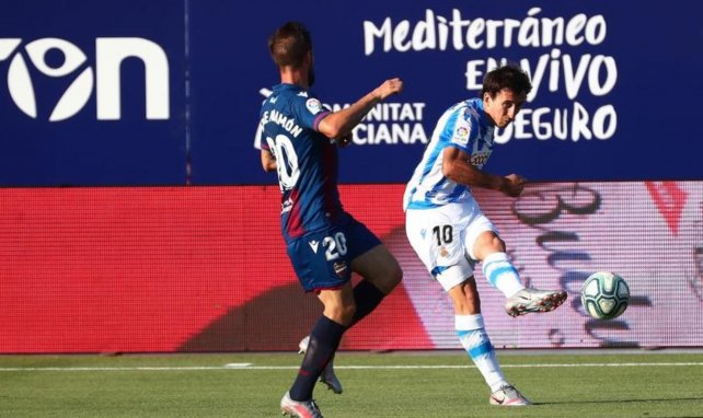Liga : la Real Sociedad ramène un point de Levante