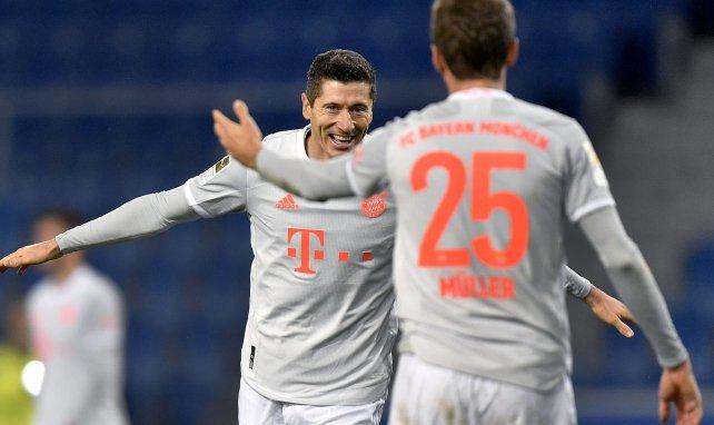 BL : Lewandowski et Müller offrent la victoire au Bayern Munich