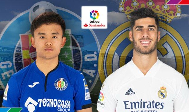 Takefusa Kubo (Getafe) Marco Asensio (Real Madrid)