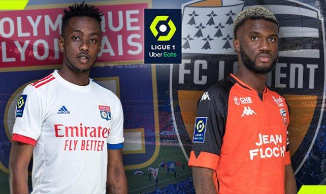 OL - Lorient : les compositions sont tombées