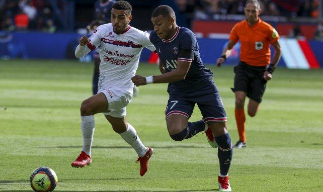 Kylian Mbappé face à Clermont