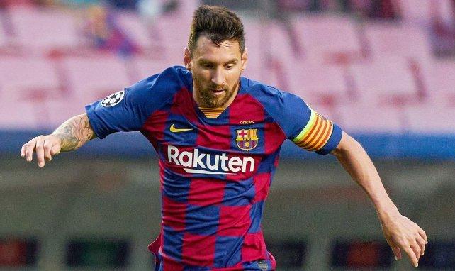 Lionel Messi sous le maillot du FC Barcelone