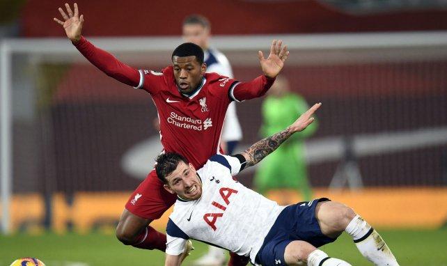 Georginio Wijnaldum et Liverpool triomphent face à Tottenham.