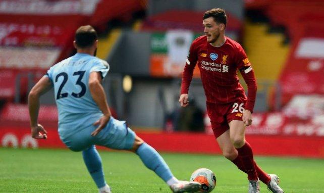 Liverpool a trouvé le remplaçant d'Andrew Robertson