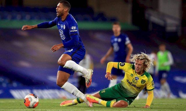 Ruben Loftus-Cheek avec Chelsea contre Norwich City