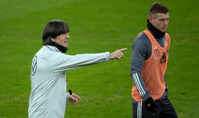 Kroos à l'entraînement