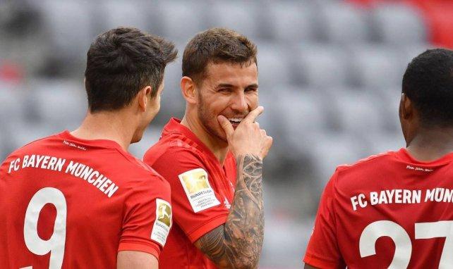 Lucas Hernández avec le Bayern cette saison