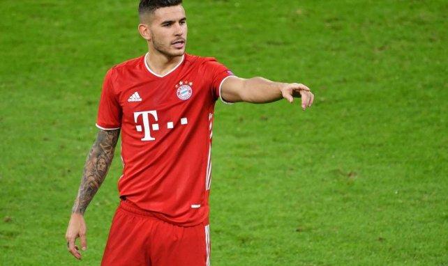 Lucas Hernández avec le Bayern