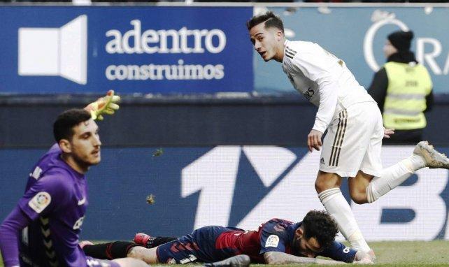Lucas Vázquez en match avec le Real Madrid