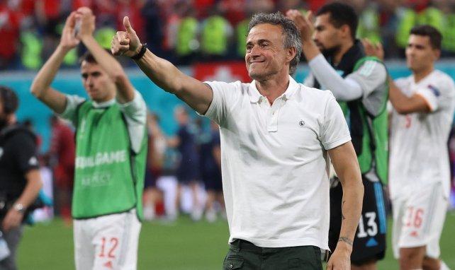 Luis Enrique avait le sourire après la qualification espagnole pour les demi-finales