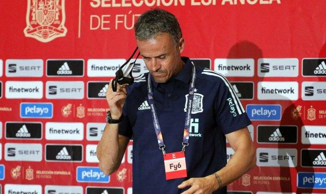 Espagne : Luis Enrique déçu de la prestation de ses joueurs