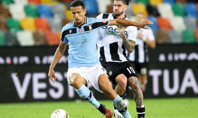 Luiz Felipe lors d'un match entre la Lazio et l'Udinese