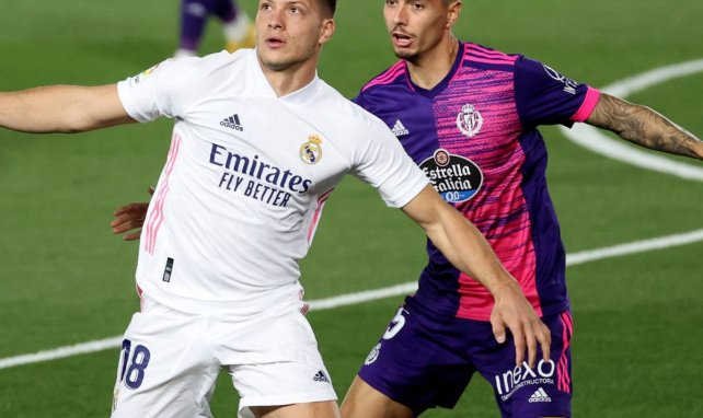 Le flop Luka Jovic quitte temporairement le Real Madrid