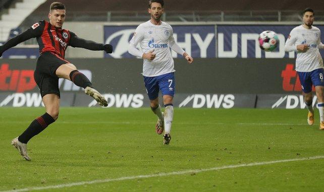 Luka Jovic sous le maillot de Francfort