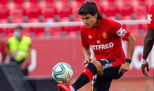 La pépite Luka Romero à l'échauffement