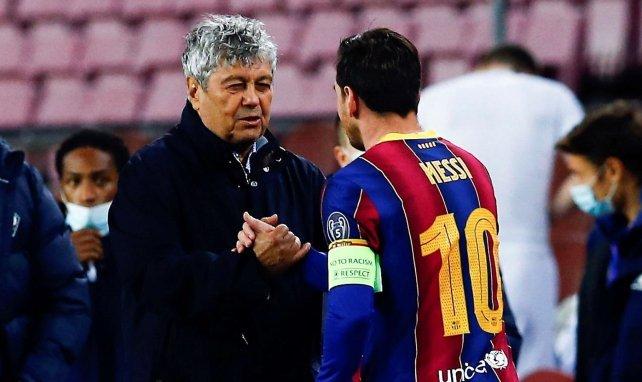 Mircea Lucescu redoute un Barça mieux équilibré sans Messi