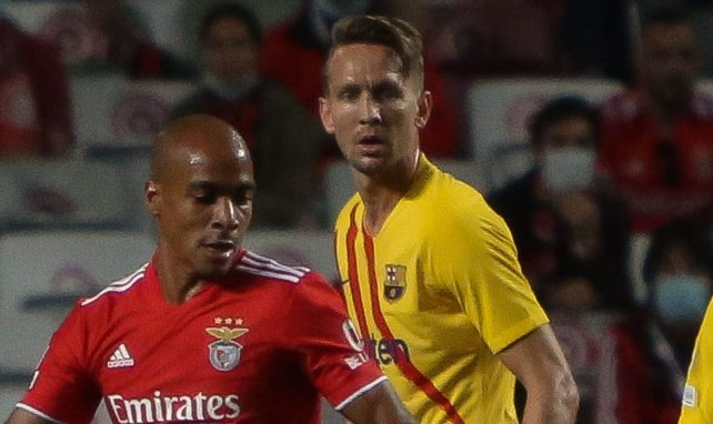 Luuk De Jong face au Benfica