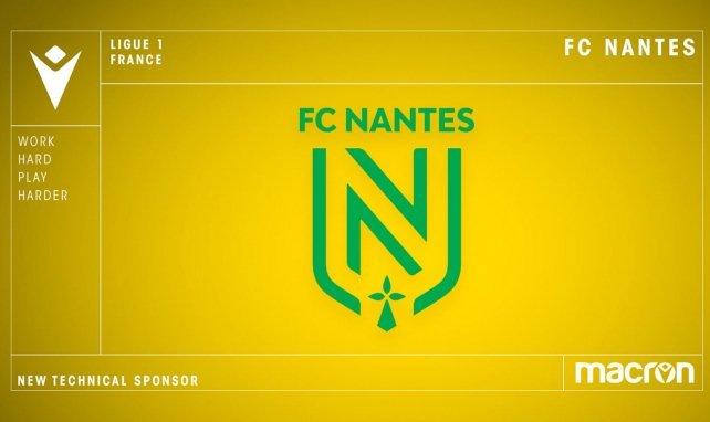 Le FC Nantes se lie avec l'équipementier Macron pour les cinq prochaines saisons