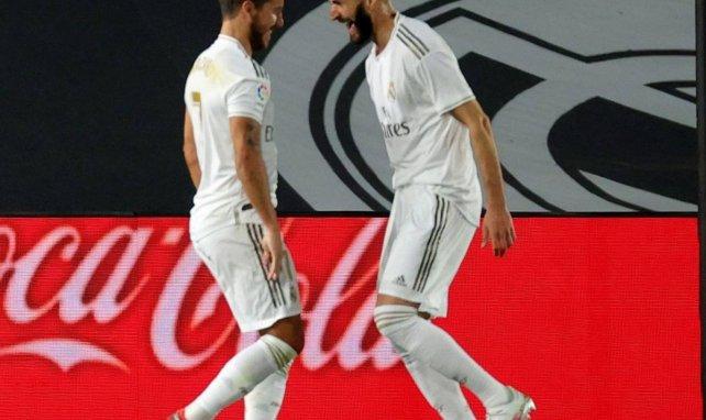 Karim Benzema et Eden Hazard se sont bien amusés face au Valence CF