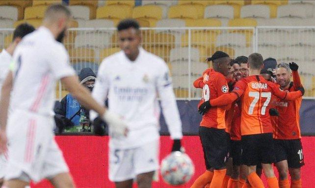 Ligue des Champions : le Real Madrid perd encore face au Shakhtar et compromet sa qualification