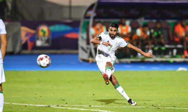 Riyad Mahrez avec l'Algérie
