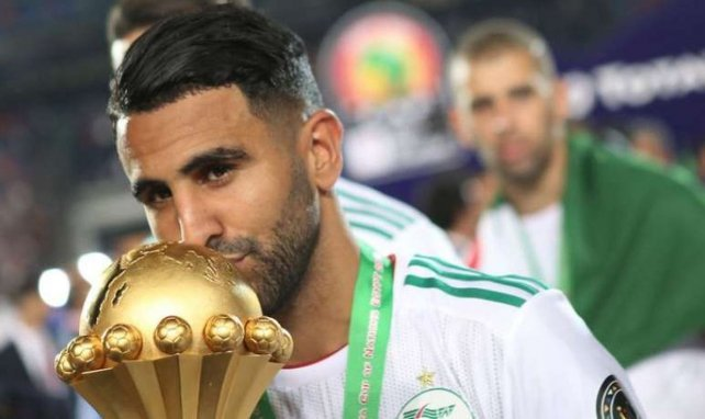 Riyad Mahrez après sa victoire à la CAN 2019