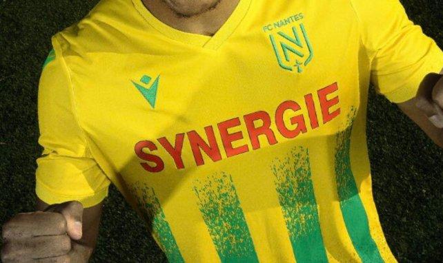 Le nouveau maillot domicile du FC Nantes pour 2020/2021