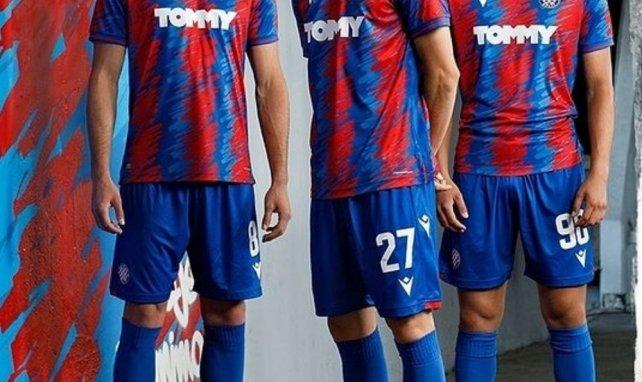 Macron présente le nouveau maillot extérieur d'Hajduk Split !