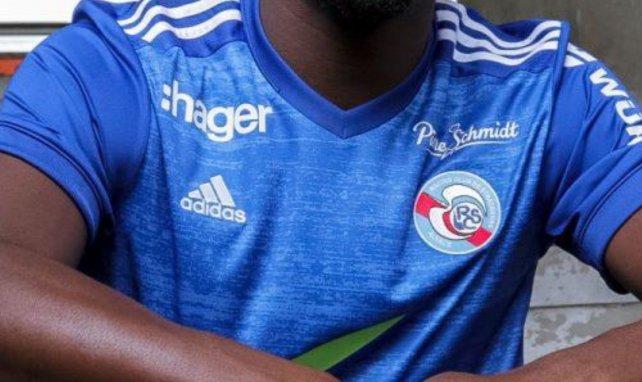 Le RC Strasbourg présente ses nouveaux maillots pour 2020/2021